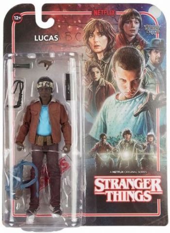 "McFarlane Toys Stranger Things Lucas 7"" Action Figure"